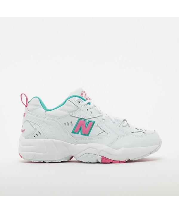 New Balance 608 WT1 Sneaker donna bianco rosa