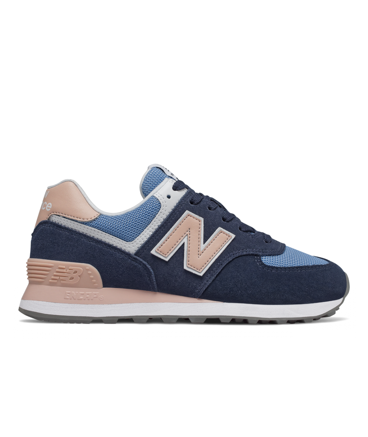 Details zu New Balance Turnschuhe Damen Sneaker Schuhe Freizeitsneaker Blau 574 Fashion