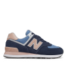 New Balance 574 WND Sneaker donna blu rosa