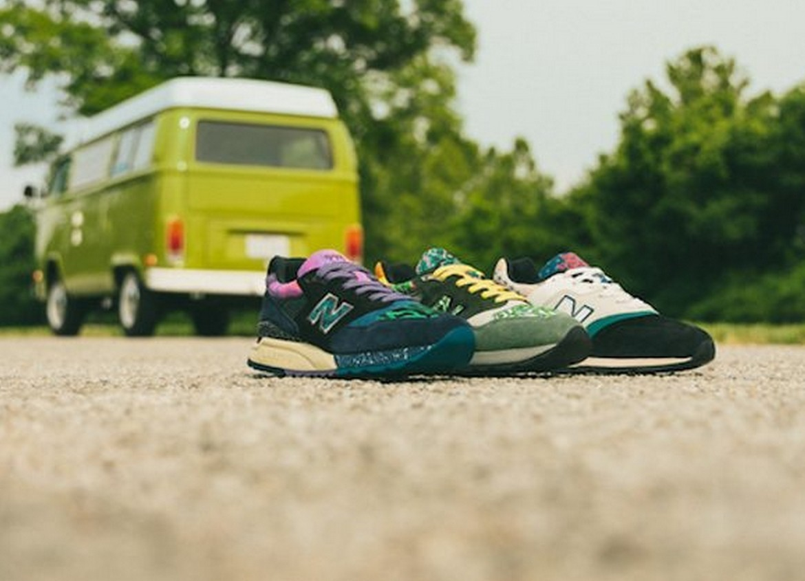 "New Balance presents the new ""Festival pack"""